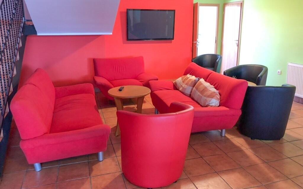 Společné prostory jsou také pohodlné