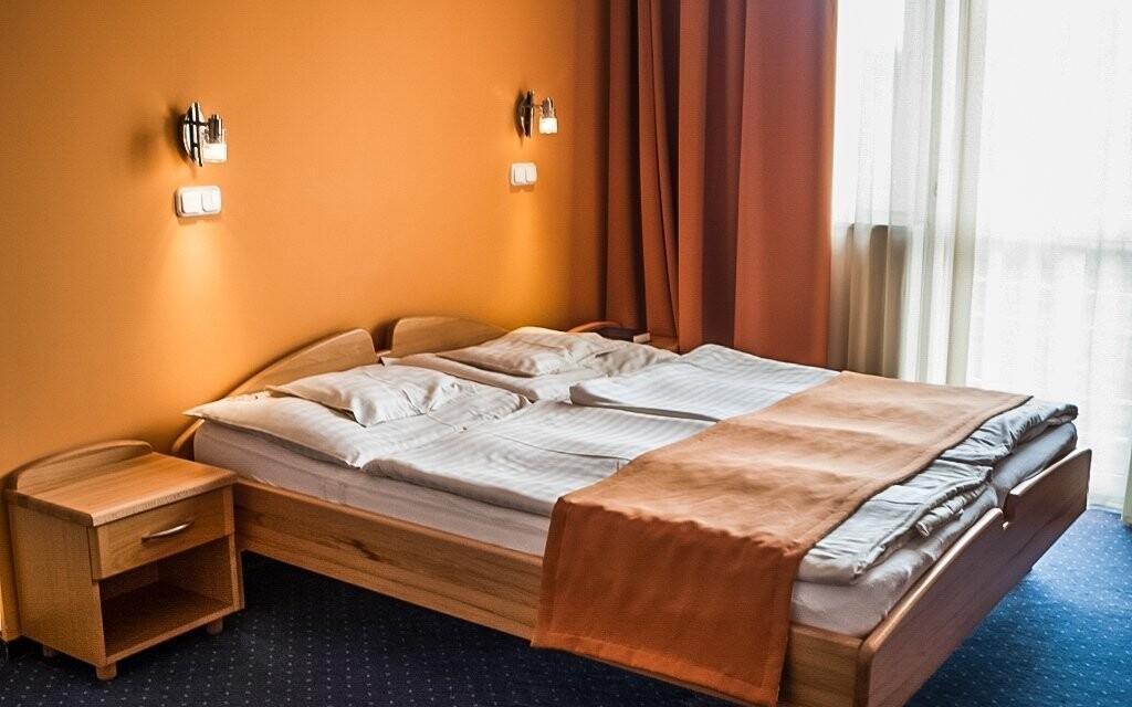 Těšte se na ubytování v komfortních pokojích Standard