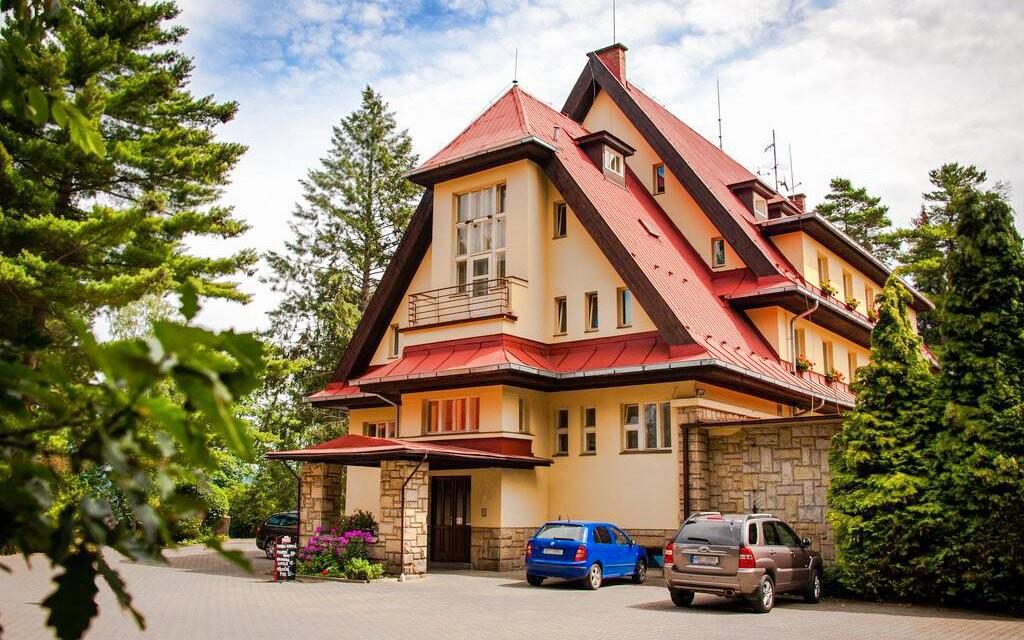 Parkhotel Skalní město *** leží v srdci Českého raja