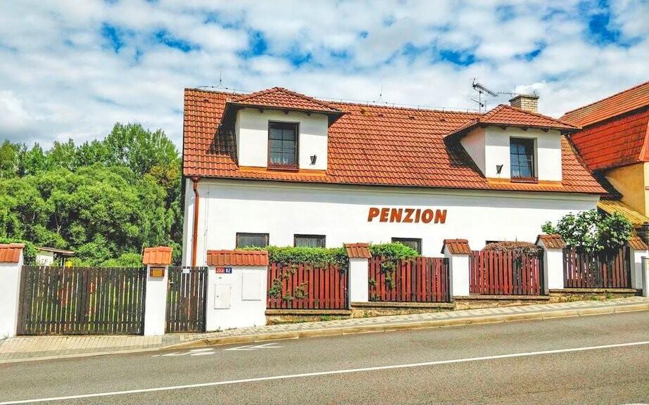 Penzion leží v klidné Votici