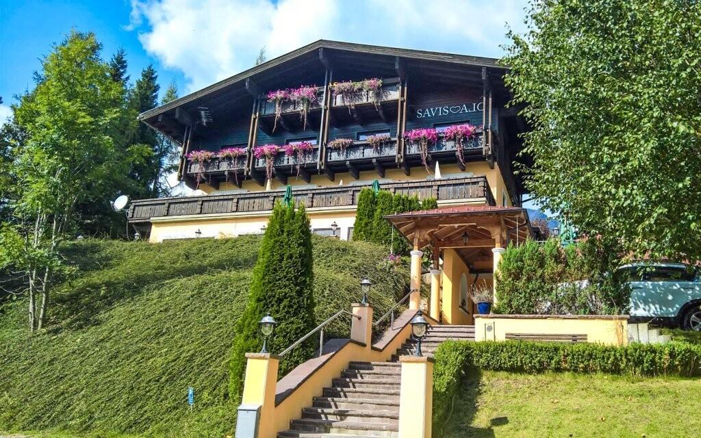 V penzionu Savisalo *** v Alpách se domluvíte česky