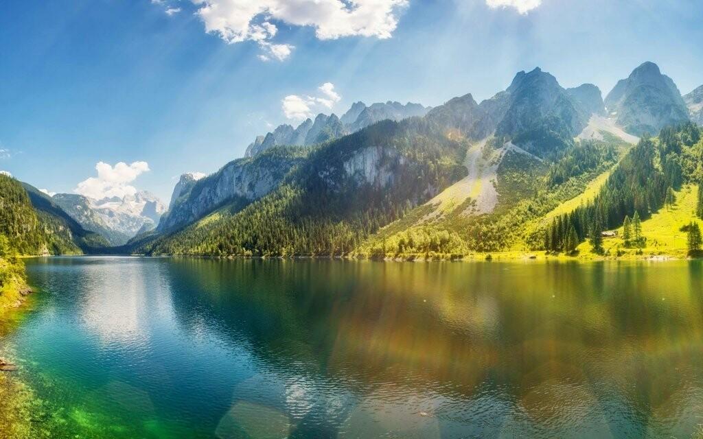 Rakouské Alpy skýtají rozmanité možnosti zábavy