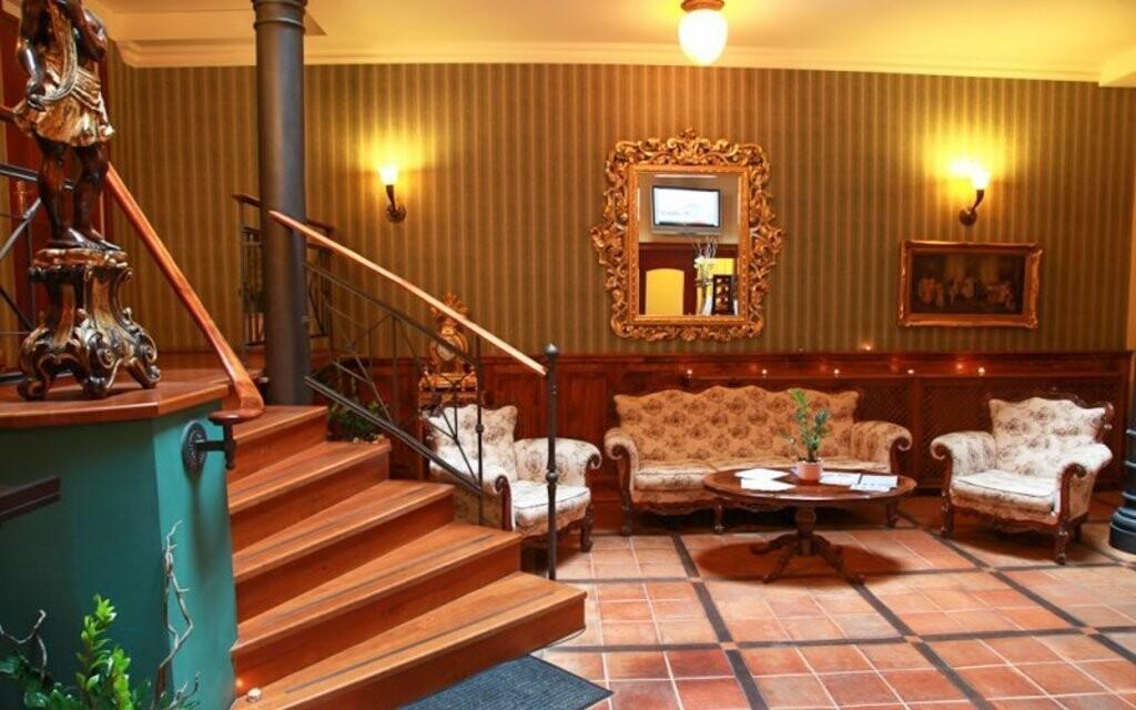 Těšte se na luxusní interiéry hotelu