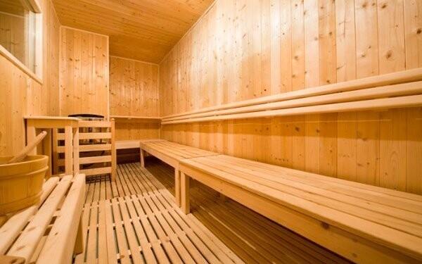 K dispozícii je tiež sauna