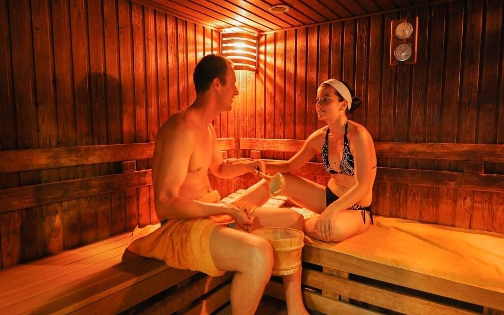Určitě oceníte i saunový svet