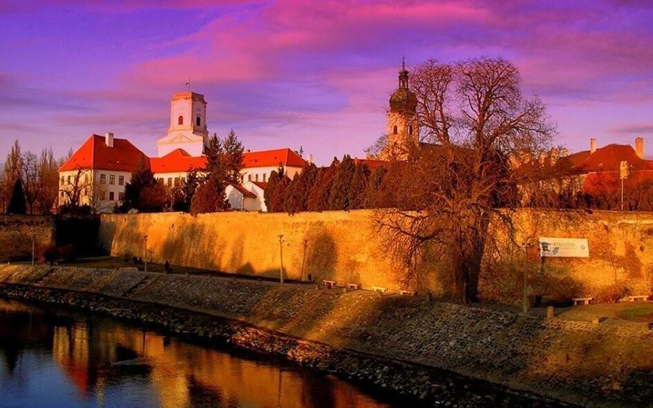 Győr je jedním z nejhezčích maďarských měst