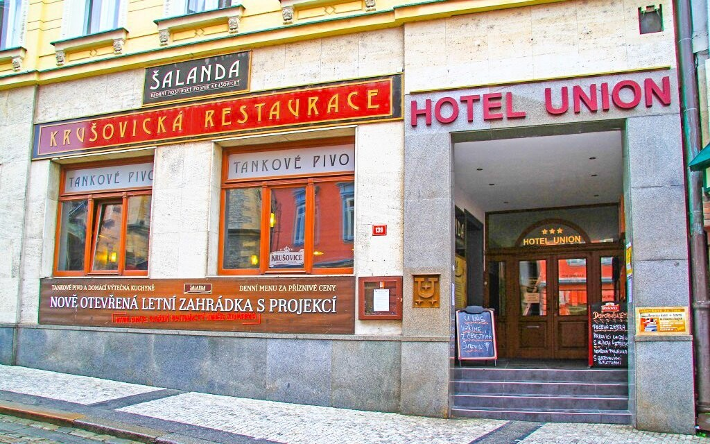 Hotel Union *** sousedí v centru s vyhlášenou restaurací
