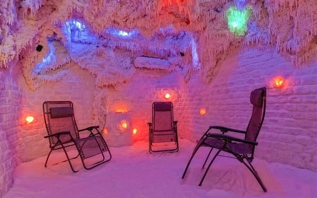 V solné jeskyni se skvěle odreagujete