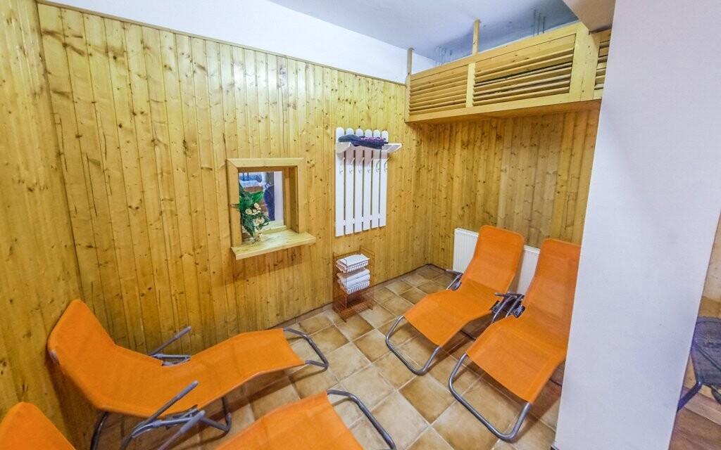 V ceně balíčku je neomezený vstup do sauny přímo v hotelu