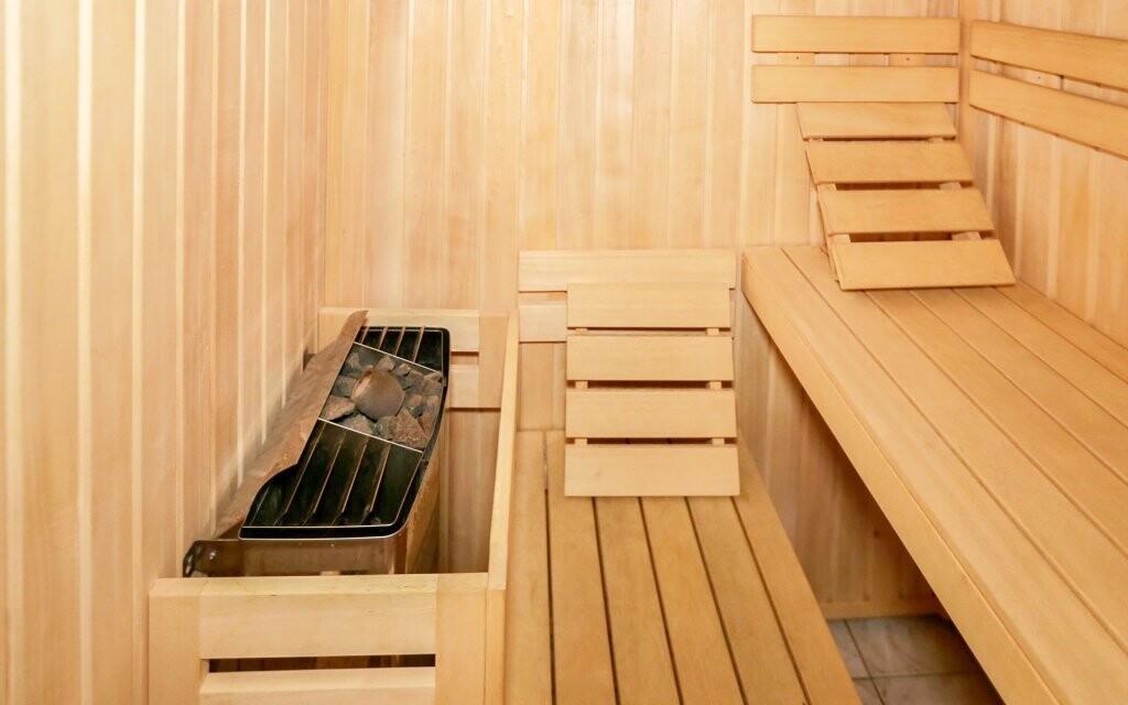 Můžete využít také saunu