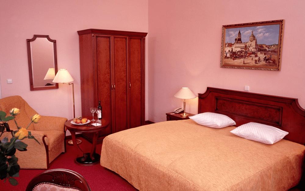 Komfortní pokoj v hotelu Ester