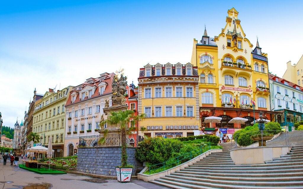 Karlovy Vary jsou krásné v každém ročním období