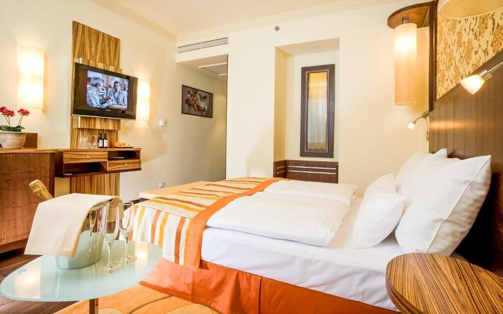 Ubytovaní budete v izbe Komfort
