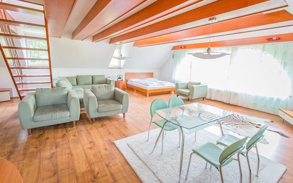 Ještě větší pohodlí nabízí apartmány za příplatek