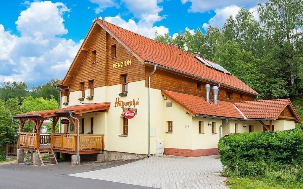 Hamerská Jizba je rodinný penzion v Krušných horách