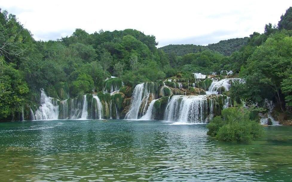Navštivte vodopády v Národním parku Krka