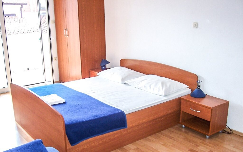 Pokoje penzionu jsou komfortně vybaveny