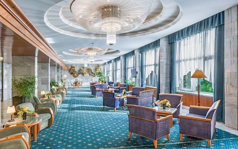 Prostory hotelu jsou luxusní