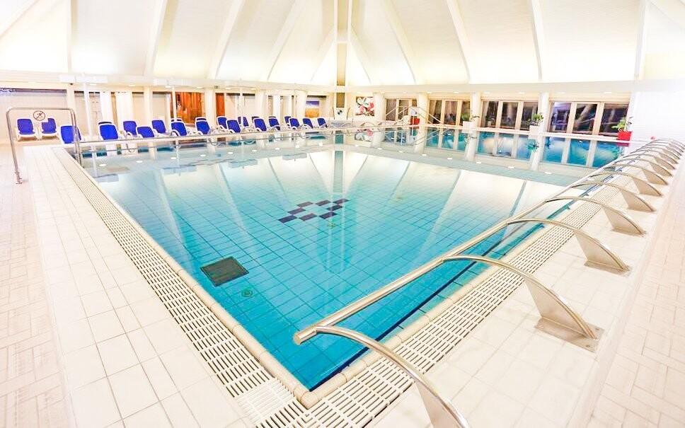 Ponořte se do bazénů a vychutnejte si jedinečnou atmosféru