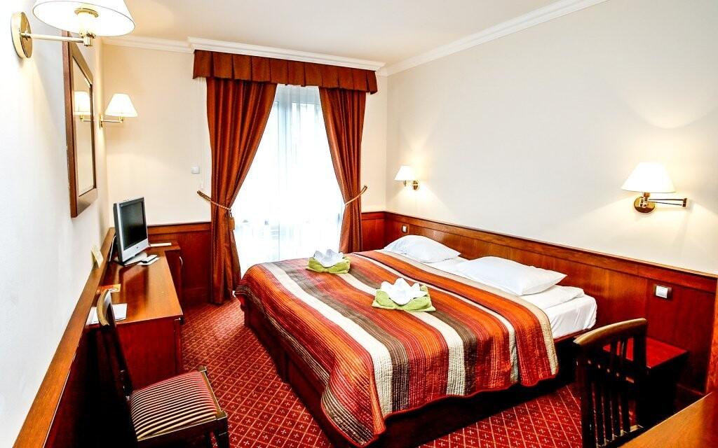 Pohodlné pokoje pro váš nerušený odpočinek