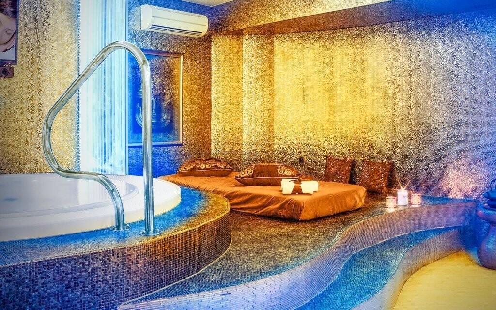 Hotel má k dispozici za příplatek také wellness