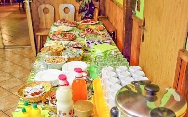 Čakajú vás bohaté raňajky