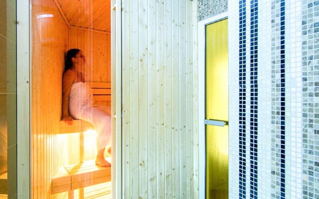 Nájdete tu hneď dve sauny