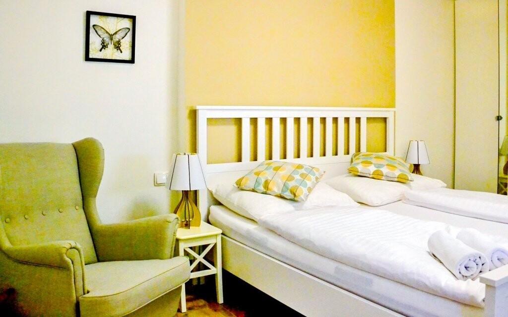Útulné pokoje jsou nově zrekonstruované