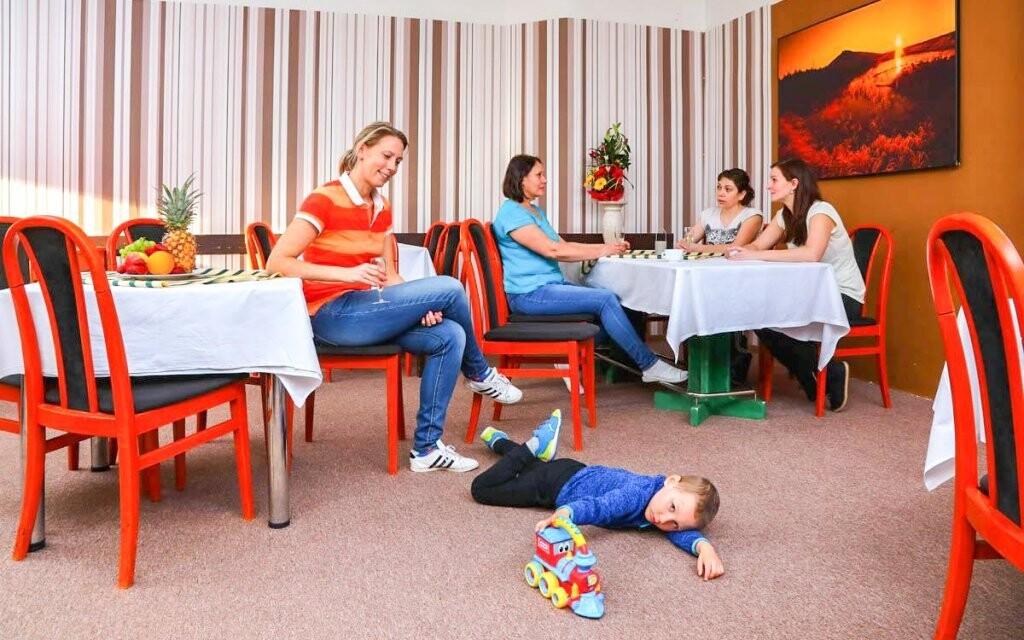 Hotel je vhodný pro ubytování s dětmi