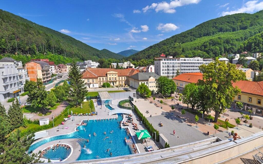 Lázně Turčianské Teplice, bazén Grand, Slovensko