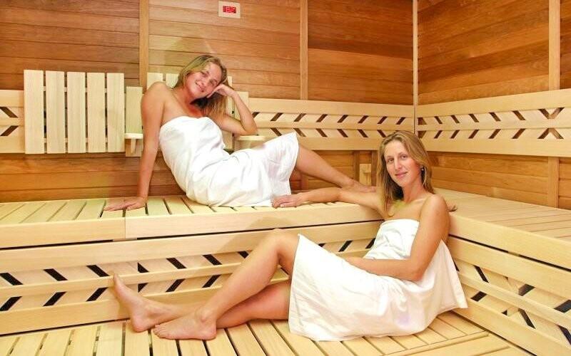 V ceně je privátní vstup do sauny