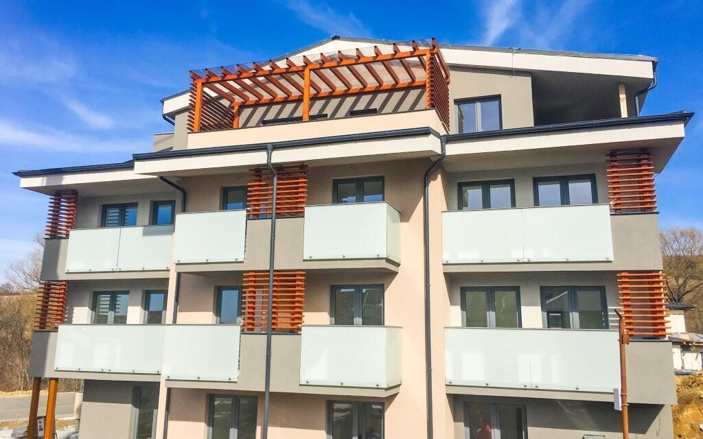 Apartmány Pulse sú novo postavené
