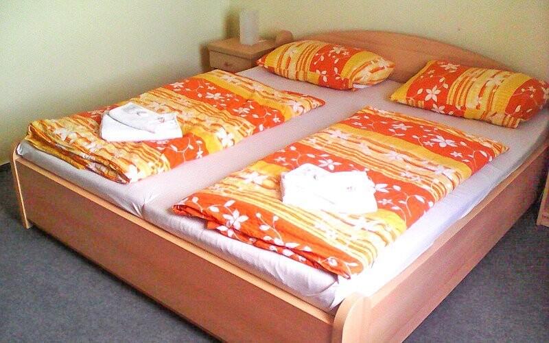 Pokoje mají vše pro vaše pohodlí