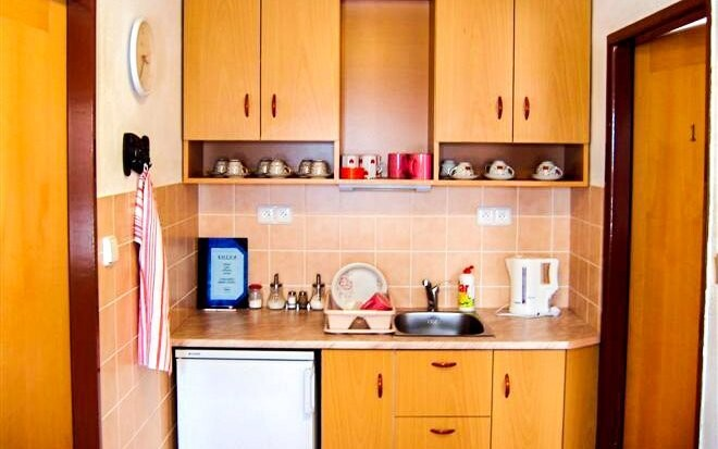 K dispozícii je vám plne vybavená kuchyňa