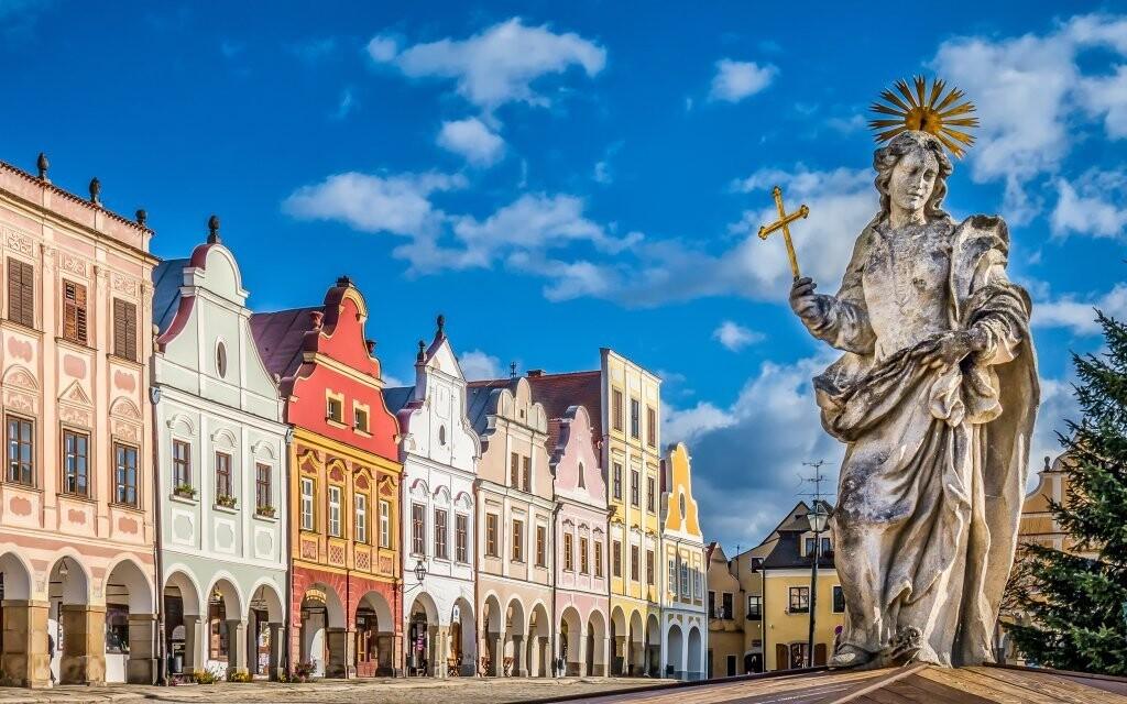 Nechajte na seba dýchnuť rozprávkovú atmosféru mesta Telč