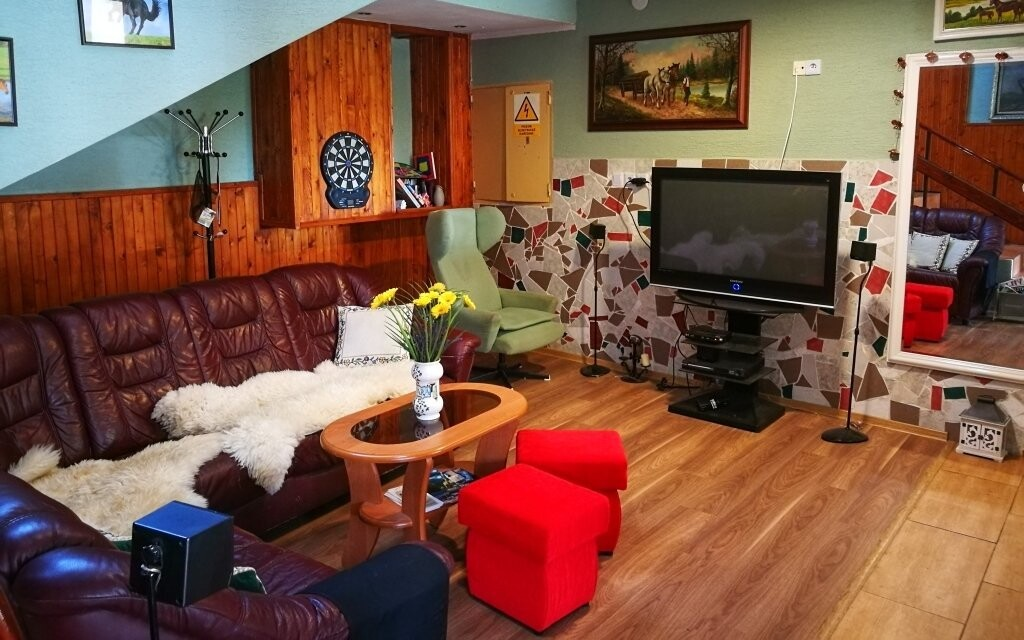 Spoločenská miestnosť, Penzión Monty Ranch, Vysoké Tatry
