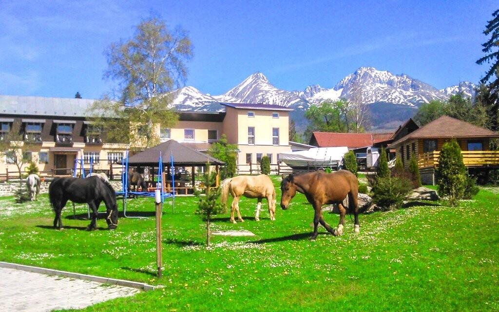 Užite si dovolenku na ranči vo Vysokých Tatrách