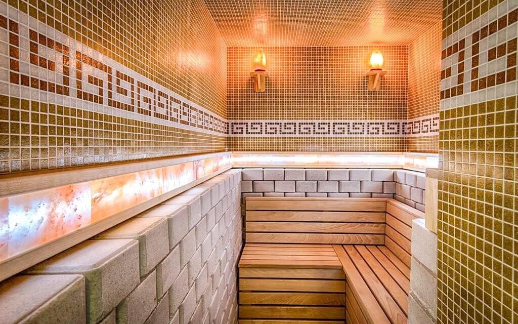 Na výběr je zde hned několik saun