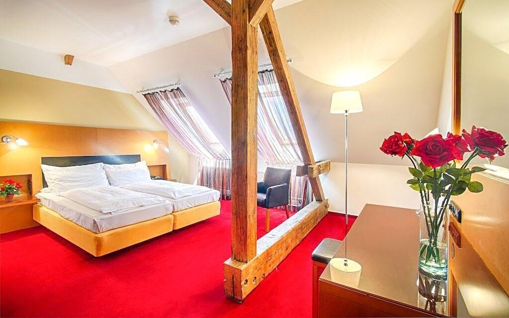 Hotelové pokoje jsou skvěle vybavené