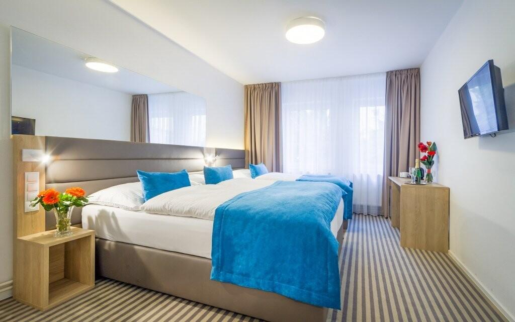 Ubytujte se v komfortních pokojích