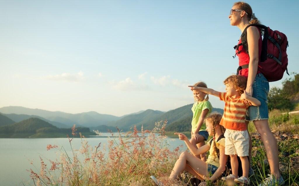 Vyrazte na dovolenou na hory s celou rodinou