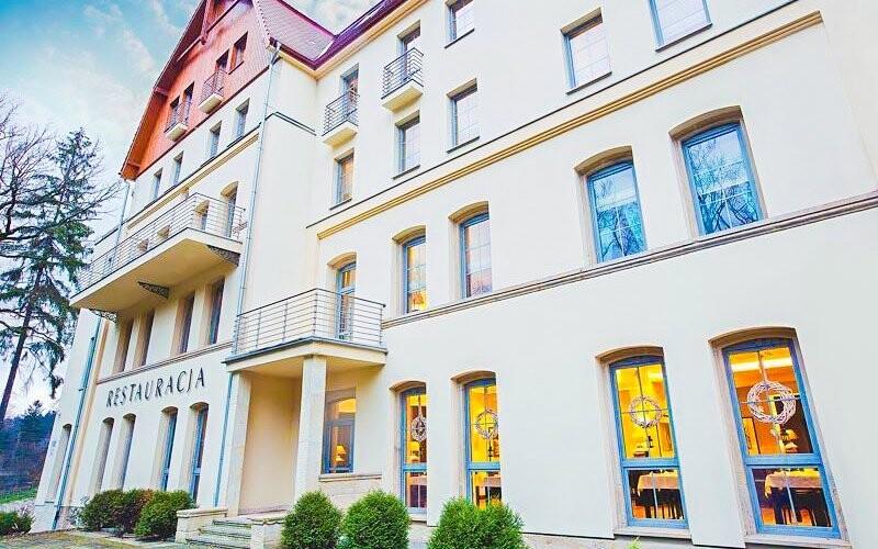 Lázeňský dům Dwór Elizy má dlouhou tradici