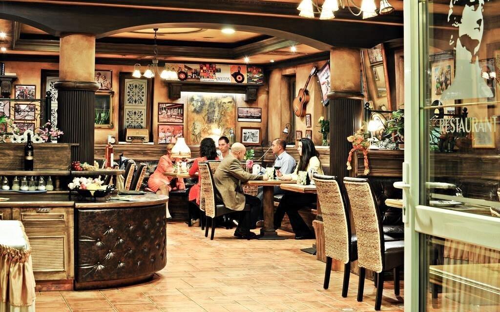 V restauraci se budete cítit příjemně
