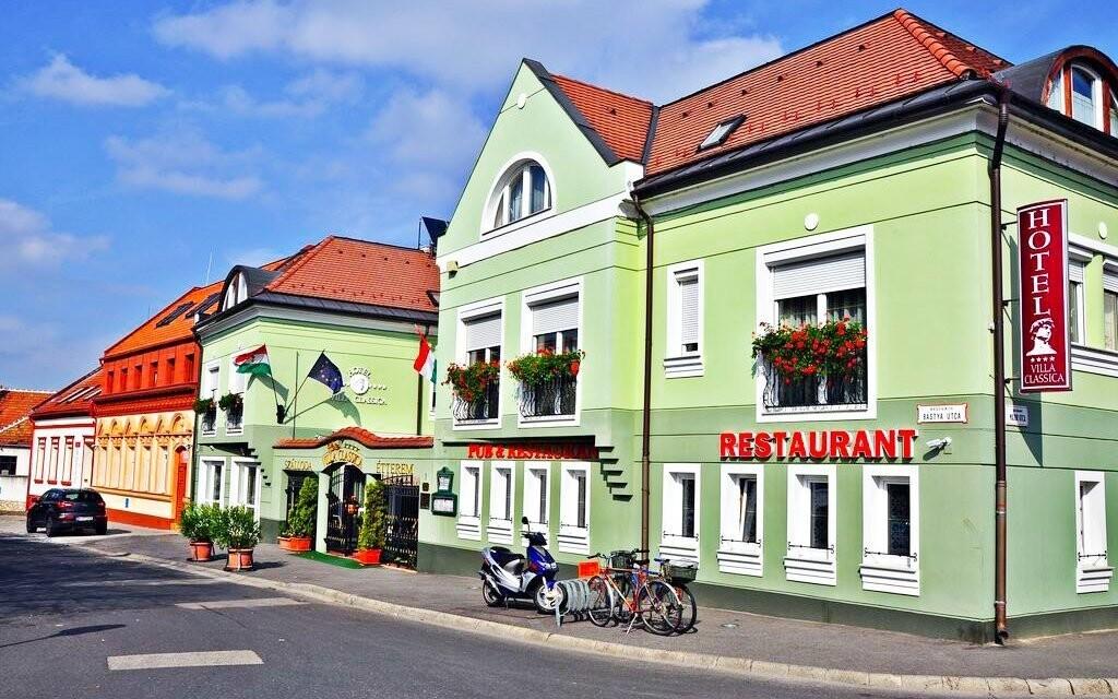 Hotel Villa Classica **** najdete v centru města