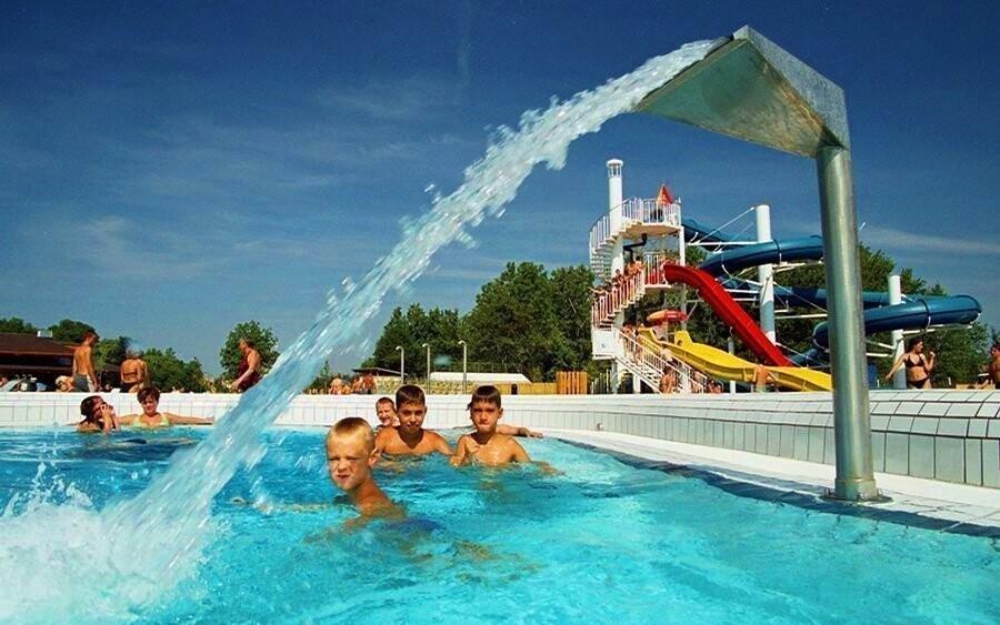 Zdejší termální voda patří k nejúčinnějším v Maďarsku