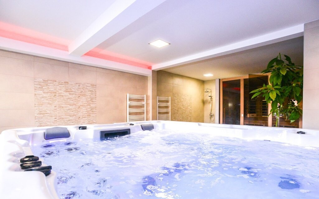 Ve wellness centru si užijete neomezenou relaxaci