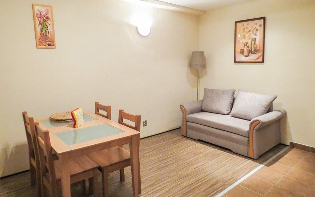 Za příplatek je možné ubytování v apartmánu