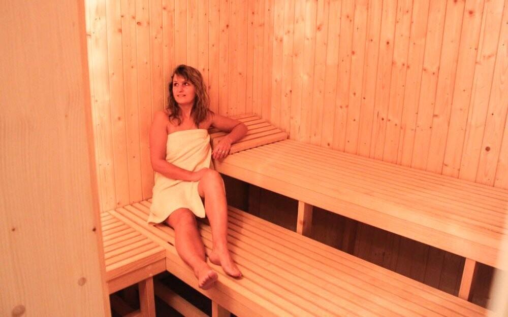 Jednou za pobyt si užijete pobyt v sauně