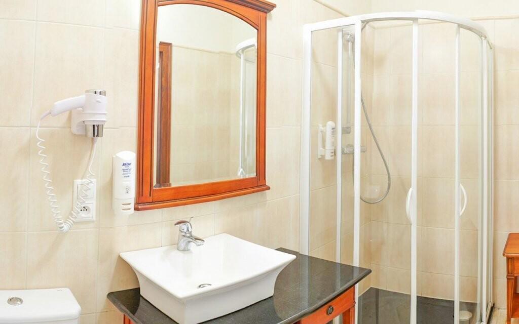 Izby sú priestranné a komfortné