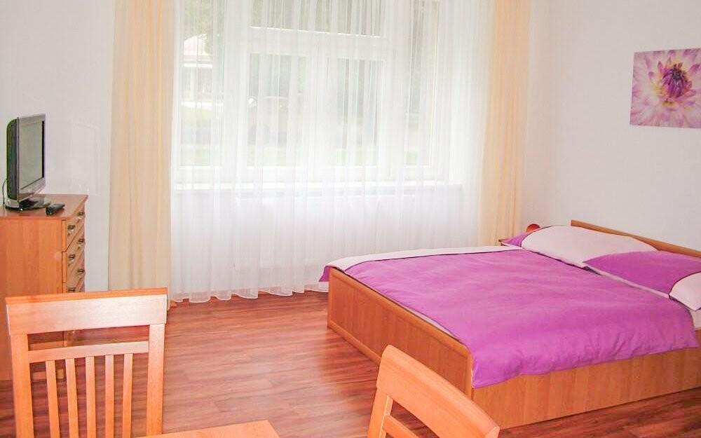 Nebo v oblíbených apartmánech Rafael